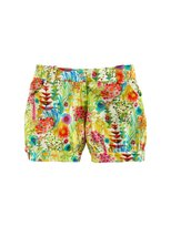 Oscar de la Renta Girls' Garden Print Cute Shorts