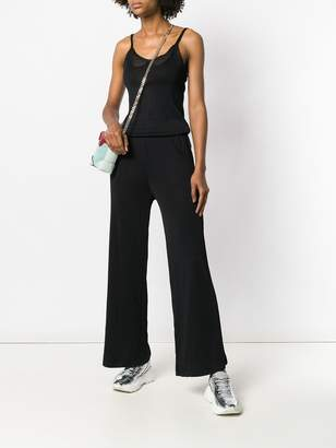 Chanel Pre-Owned sheer detail jumpsuit