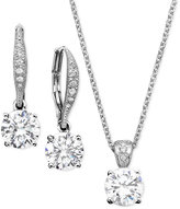 Eliot Danori Pendant and Earrings Set, Cubic Zirconia (2 ct. t.w.)