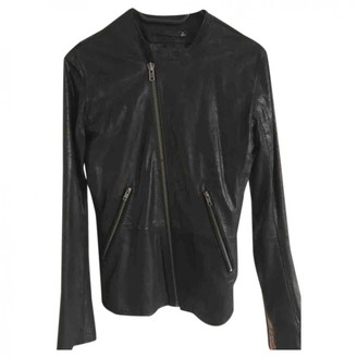 BLK DNM Black Leather Leather jackets