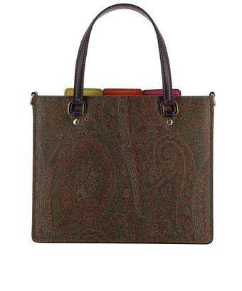 Etro Women's Multicolor Leather Shoulder Bag.