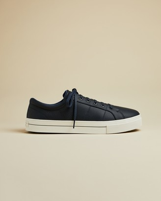 Ted Baker EPHRAN Leather plimsoll sneakers