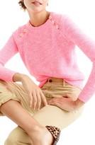 J.Crew Women's Textured Cotton Sweater