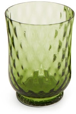 Cabana Magazine - Balloton Water Glass - Green