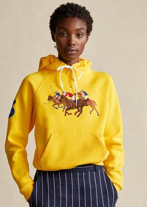 Ralph Lauren Embroidered Fleece Hoodie