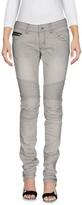 POORICH Denim pants - Item 42621171