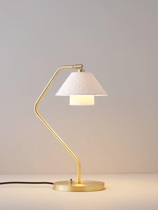 Original BTC Oxford Double Desk Lamp, White