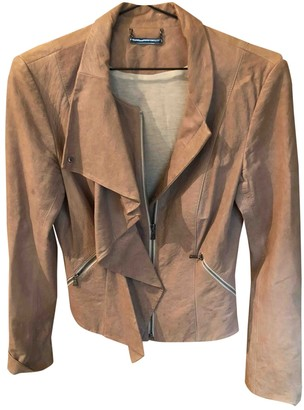 Diane von Furstenberg Pink Leather Jackets