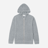 Everlane The Waffle-Knit Cashmere Zip Hoodie