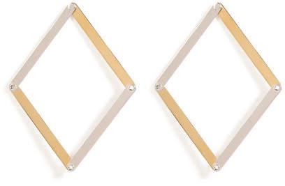 Delfina Delettrez Silver Dettaille Unique Earrings
