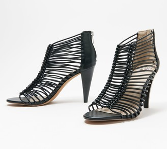 Vince Camuto Caged Heeled Sandals - Alsandra