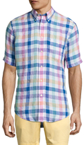 Brooks Brothers Short Sleeve Gingham Sportshirt