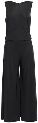 By Malene Birger Open-back Jersey Wide-leg Jumpsuit