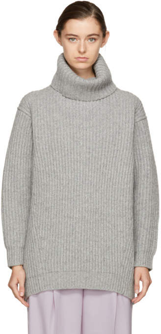 Acne Studios Grey Disa Turtleneck