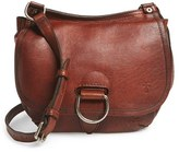 Frye 'Amy' Leather Crossbody Bag - Black