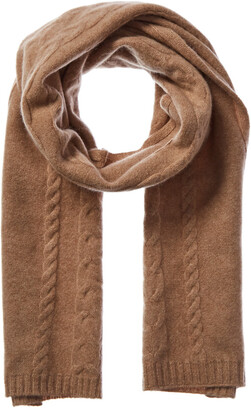 Qi Cashmere Cable Scarf