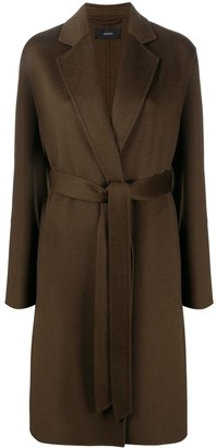 Joseph Belted Mid-Length Coat