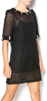 Aryeh Black Lace Jeweled