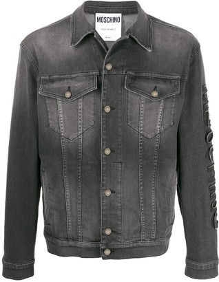 Moschino Washed Denim Jacket