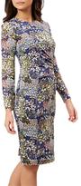 Hobbs Merida Dress, Navy/Multi