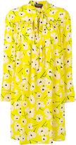 Rochas neck tie dress - women - Silk - 40