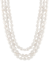 Bella Pearl White Pearl Endless Necklace