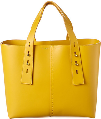 Frame Les Second Medium Leather Tote