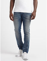 Diesel Thommer Skinny Fit Stretch Jeans, Light Blue 084ik