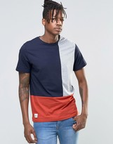 NATIVE YOUTH Color Block T-Shirt