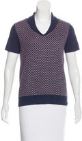 A.P.C. Pattern Knit Wool-Blend Top