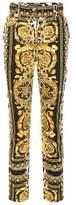 Versace Pantalon en coton imprimé
