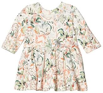 finn + emma Animal Kingdom Twirl Dress (Infant/Toddler) (Animal Kingdom) Kid's Dress