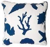 John Robshaw Coral Throw Pillow