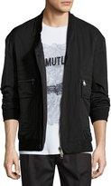 Helmut Lang Crossover Bomber Jacket, Black
