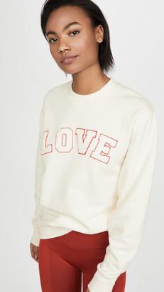 Tory Sport French Terry Love Sweatshirt