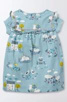 Toddler Girl's Mini Boden Pretty Print Dress