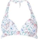Dorothy Perkins Womens *Floral Print Halter Neck Bikini Top- Multi Colour