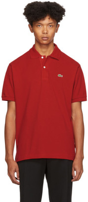 Lacoste Red Classic Polo