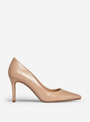 Dorothy Perkins Womens Wide Fit Nude Court Shoes