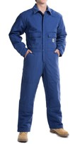 Carhartt Flame-Resistant Duck Coveralls - Insulated (For Men)