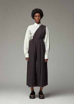 Y's by Yohji Yamamoto Women's One Shoulder Jumpsuit in Black Size 3