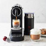 Nespresso CitiZ Espresso Machine & Milk Frother, Black