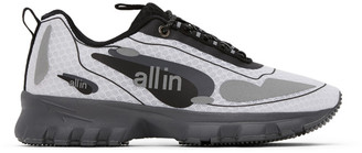 all in White and Silver Astro Sneakers