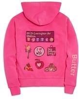 Butter Shoes Girls' Loves Bloomingdale's Hoodie, Big Kid - 100% Exclusive