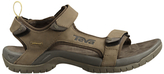 Teva Men's Tanza Leather Sandals, Brown