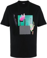 Diesel graphic-print short sleeve T-shirt