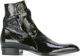 Saint Laurent Signature Wyatt 30 Jodhpur boots - men - Calf Leather/Leather - 40