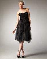 Robert Rodriguez Black Label Paula Embellished Strapless Dress