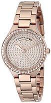 Stuhrling Original Women's 683.04 Symphony Swiss Quartz Crystal Dial Rosetone Watch