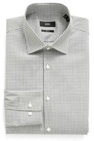 BOSS Men's Slim Fit Check Dress Shirt